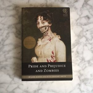 """""""Pride and Prejudice and Zombies"""" paperback book"""